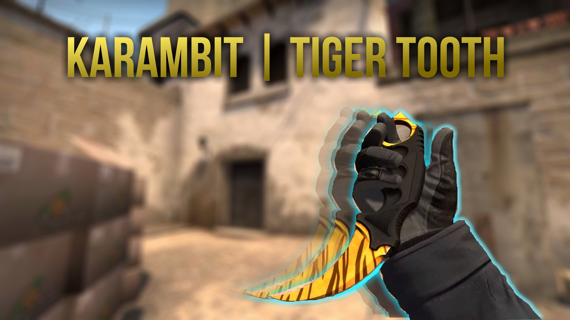 Karambit | Tiger tooth