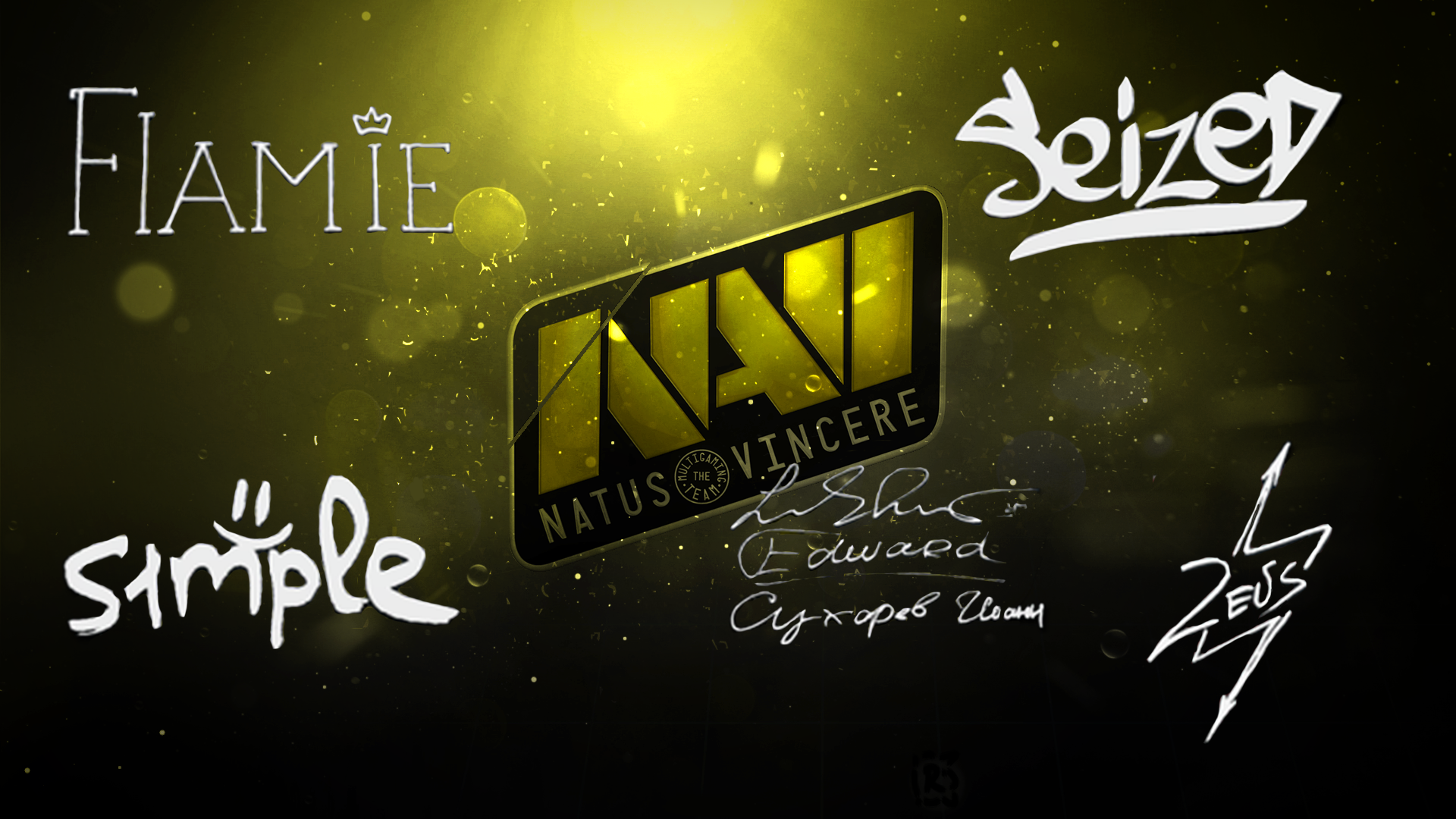 Na'vi  player autograph (off) by Ronofar