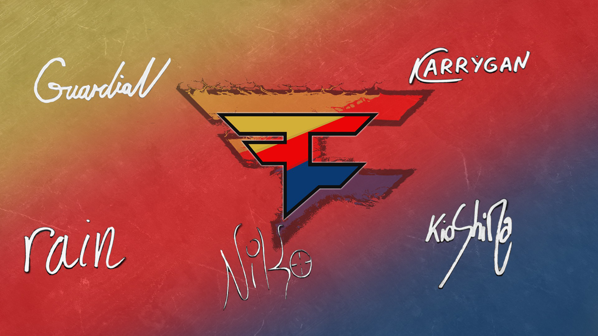 FaZe Clan players autograph(off) by Ronofar (vol.2