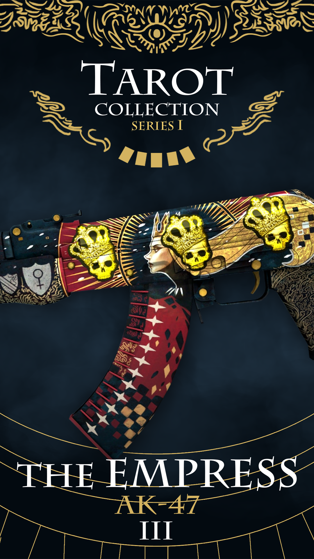 Ak 47 L The Empress Cs Go Wallpapers And Backgrounds