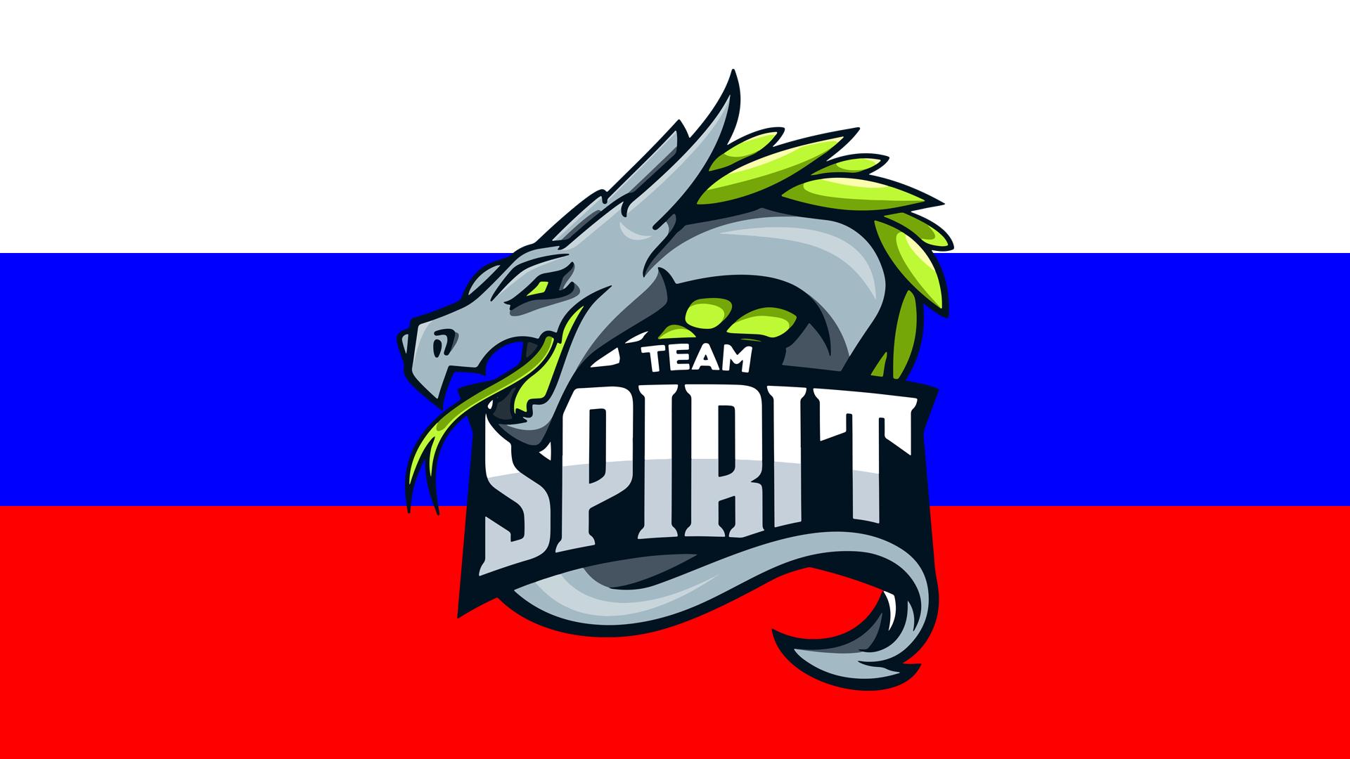 New Team Spirit Logo Russia