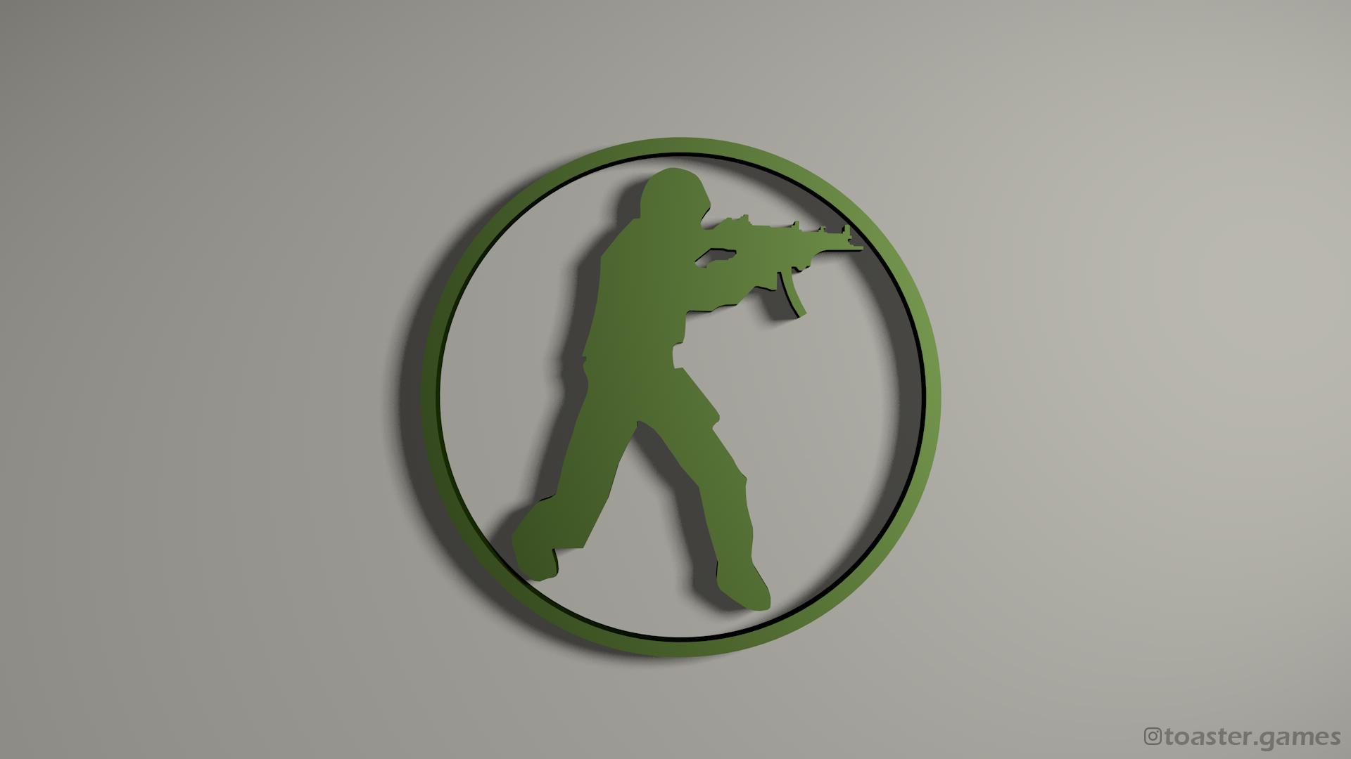 CSGO Logo Green