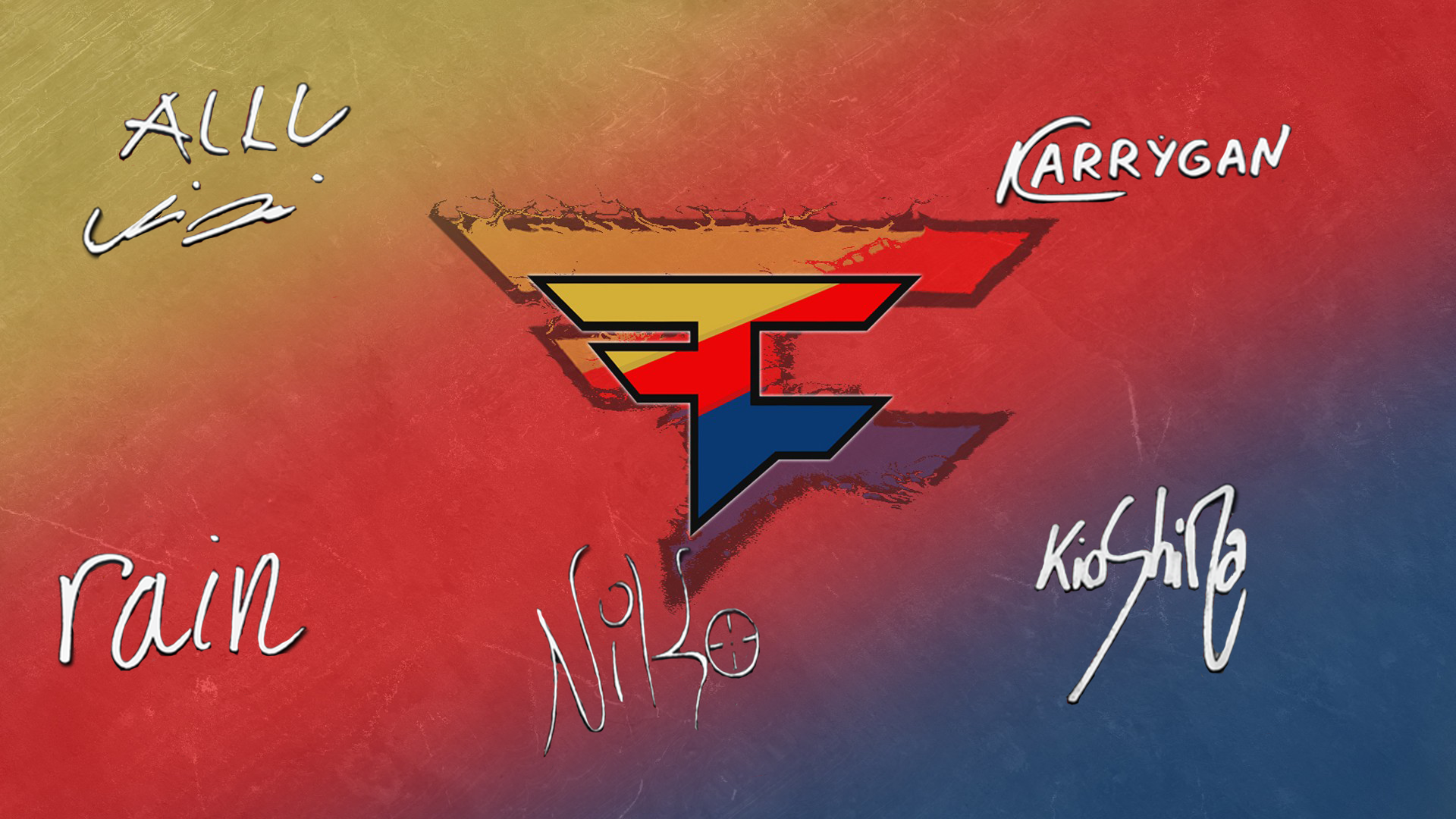 FaZe Clan players autograph by Ronofar