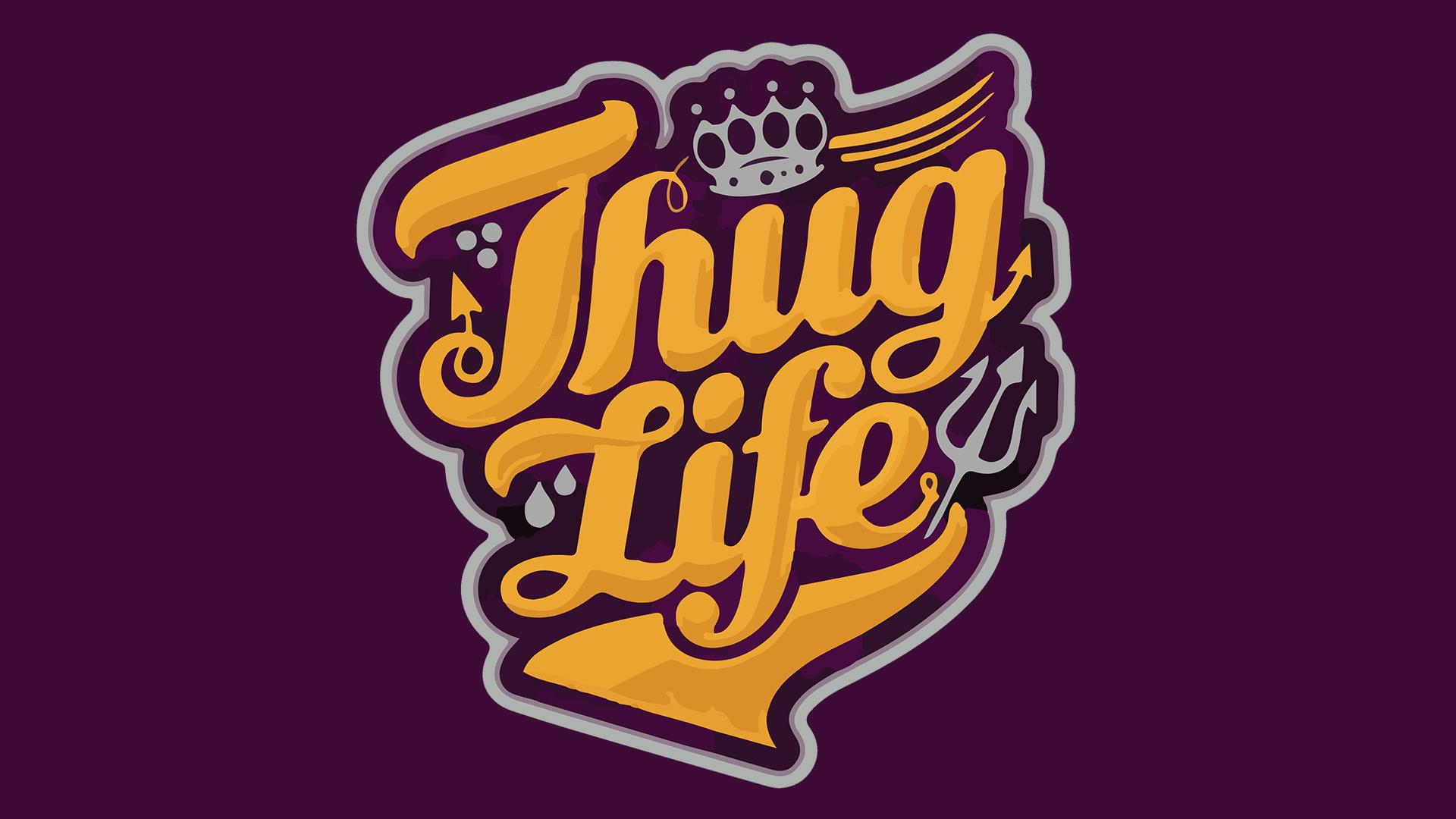 Snow white masks thug life d