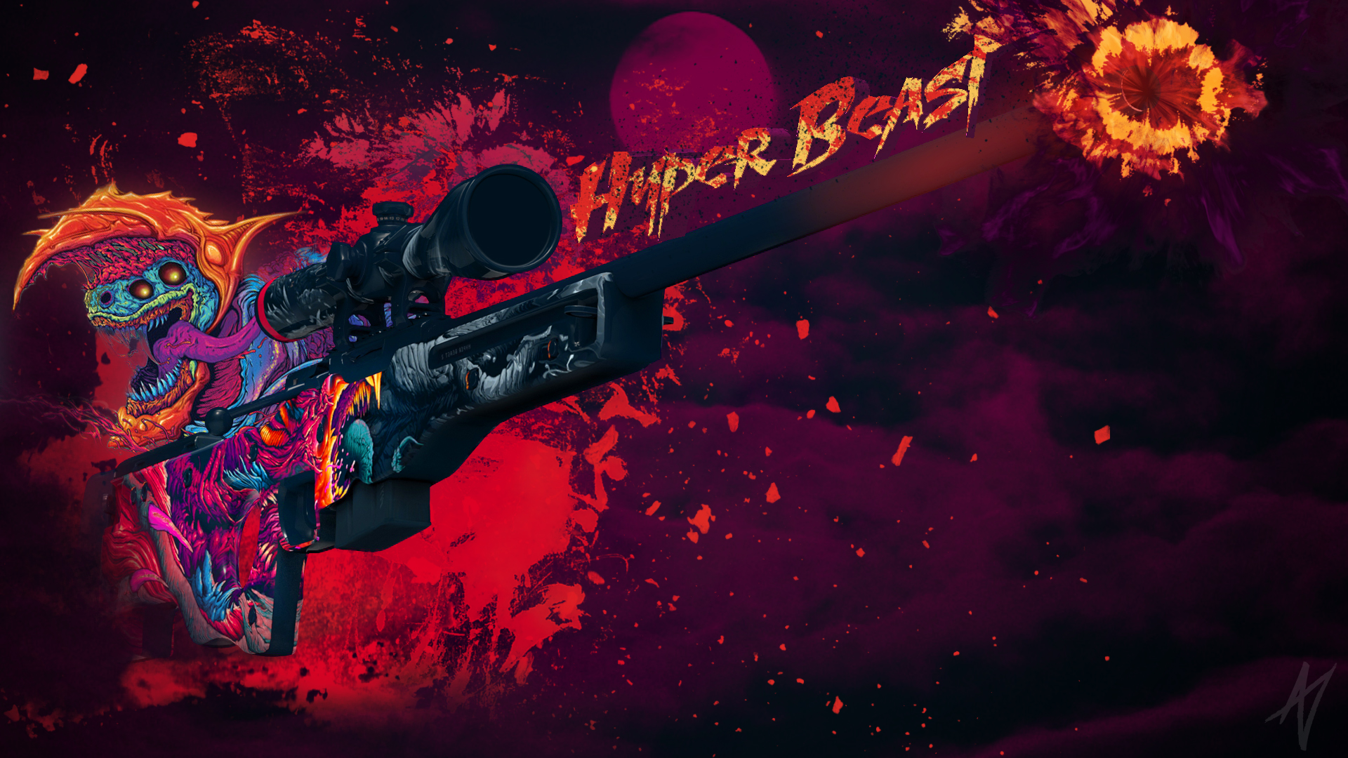 Awp Hyper Beast Cs Go Wallpapers And Backgrounds