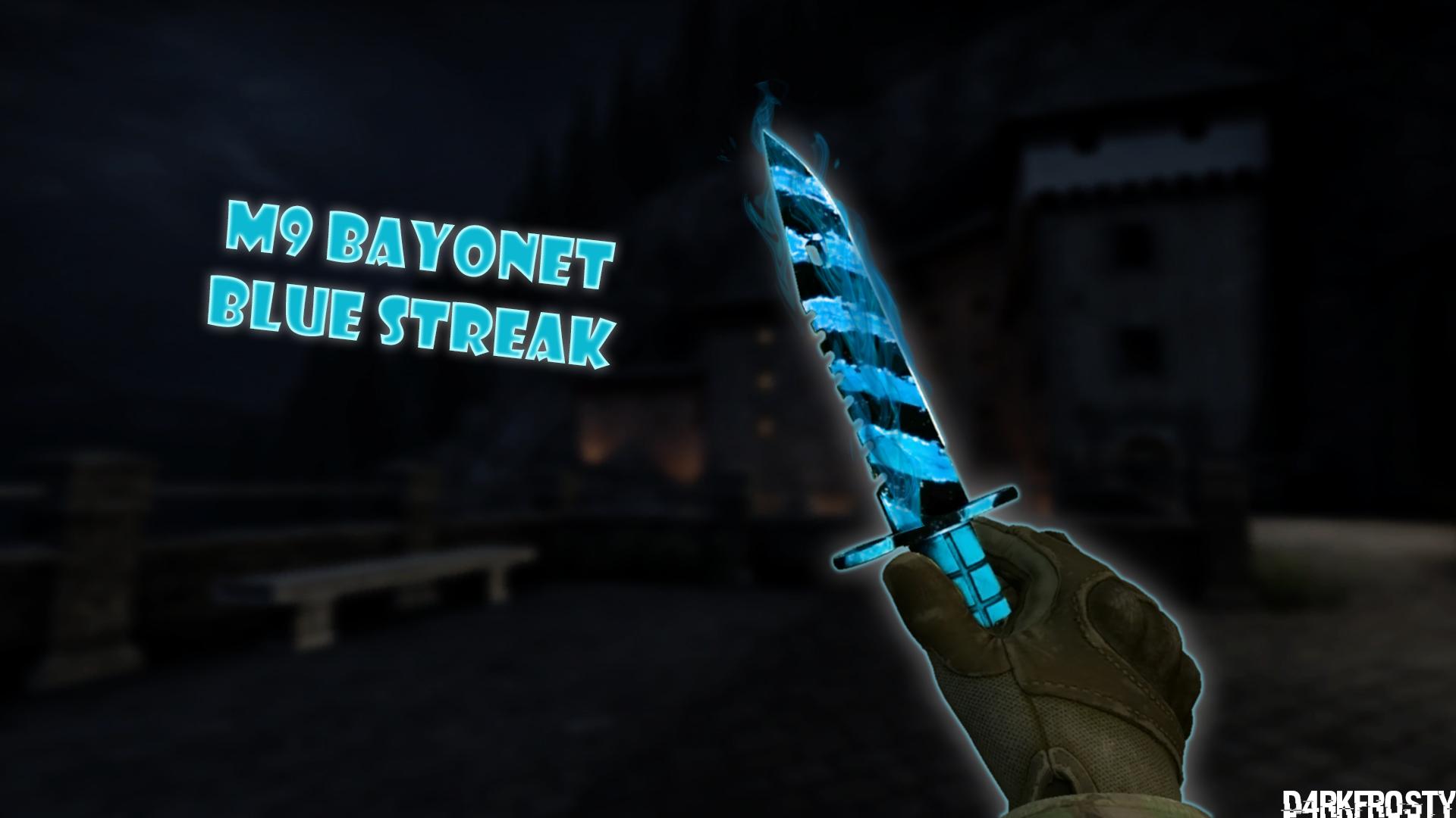 M9 BAYONET | BLUE STREAK