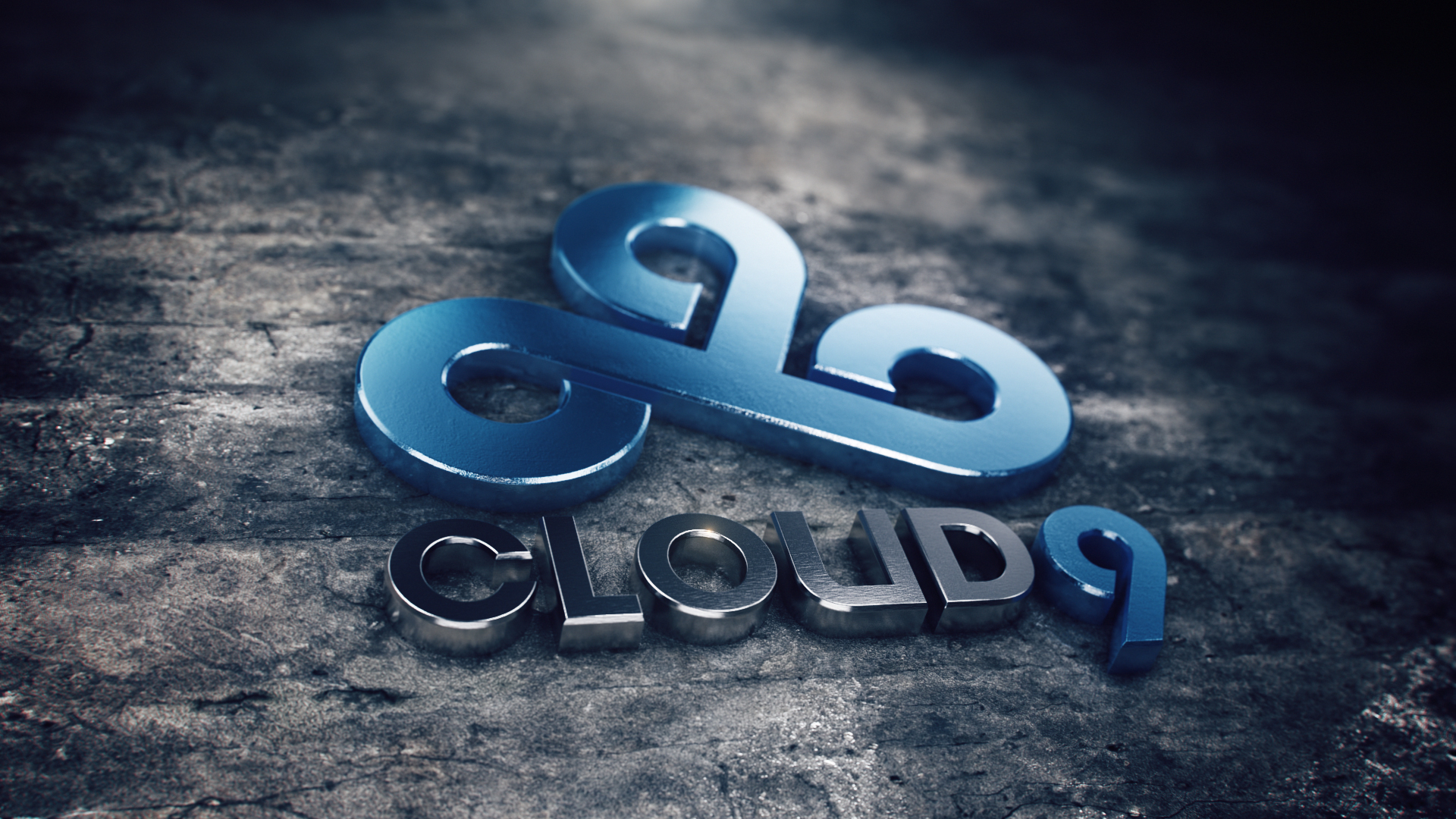 cloud9 logo 3d csgo wallpapers and backgrounds