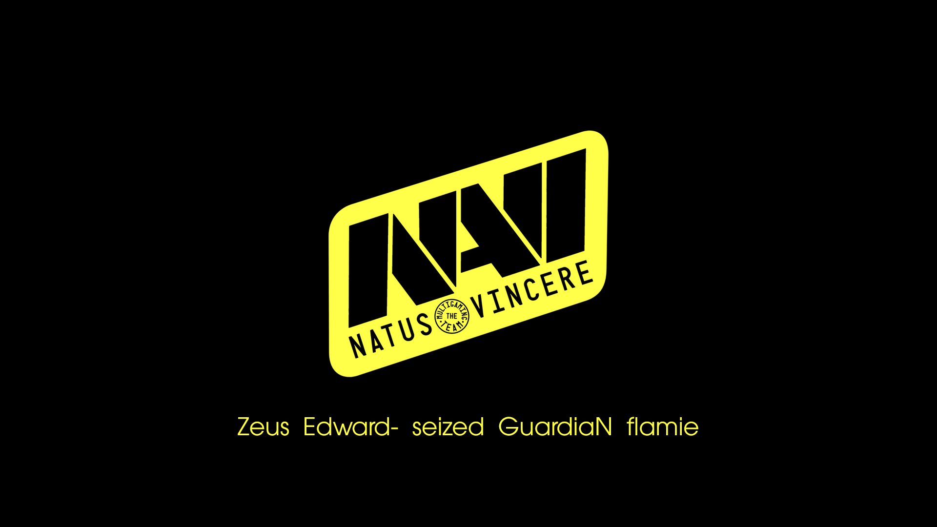 Navi black/yellow