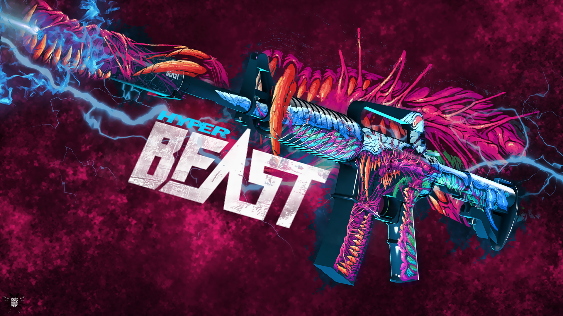M4A1Hyper Beast  CS:GO Wallpapers