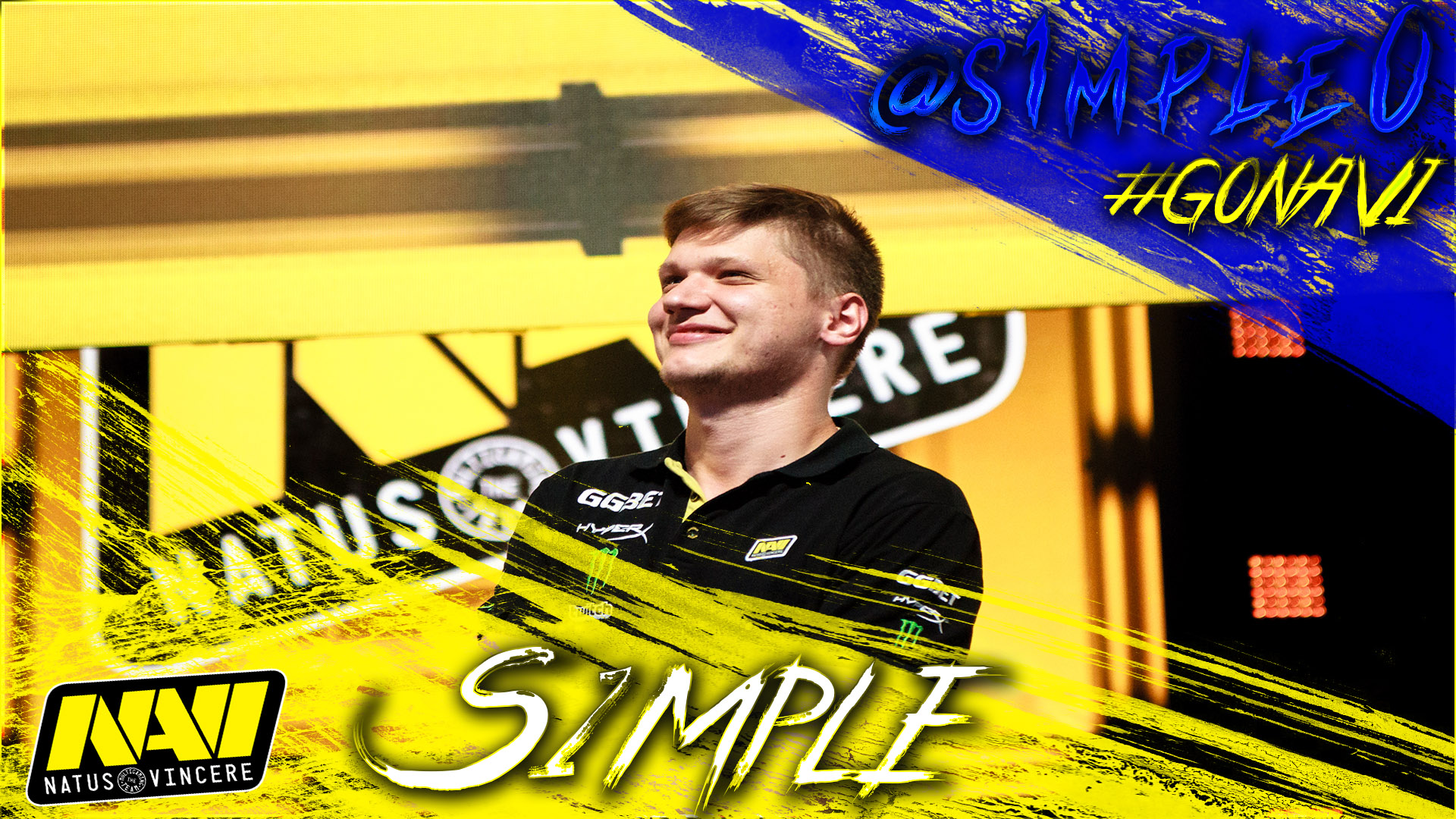 S1mple wallpaper by Ronofar
