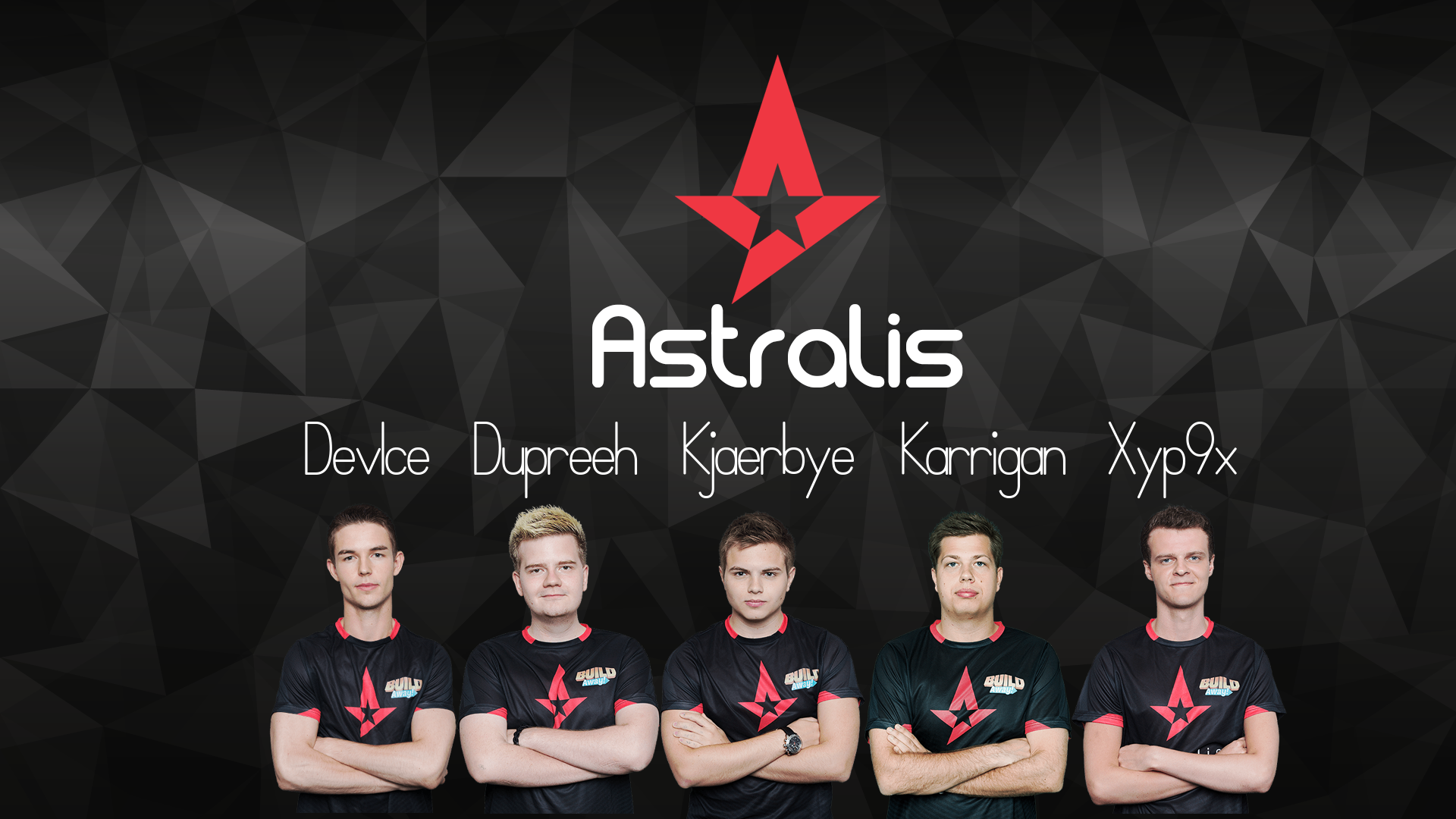 AstralisGG Wallpaper (New Roster)!