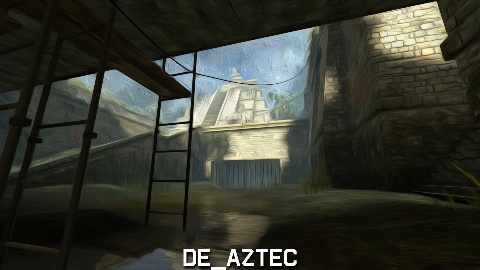 Aztec Oil Paint