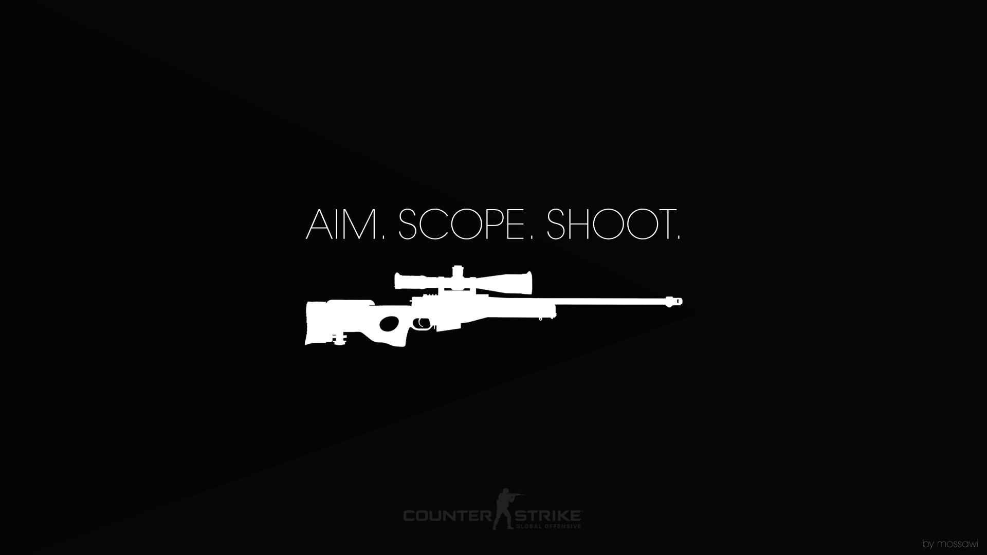 AIM. SCOPE. SHOOT.