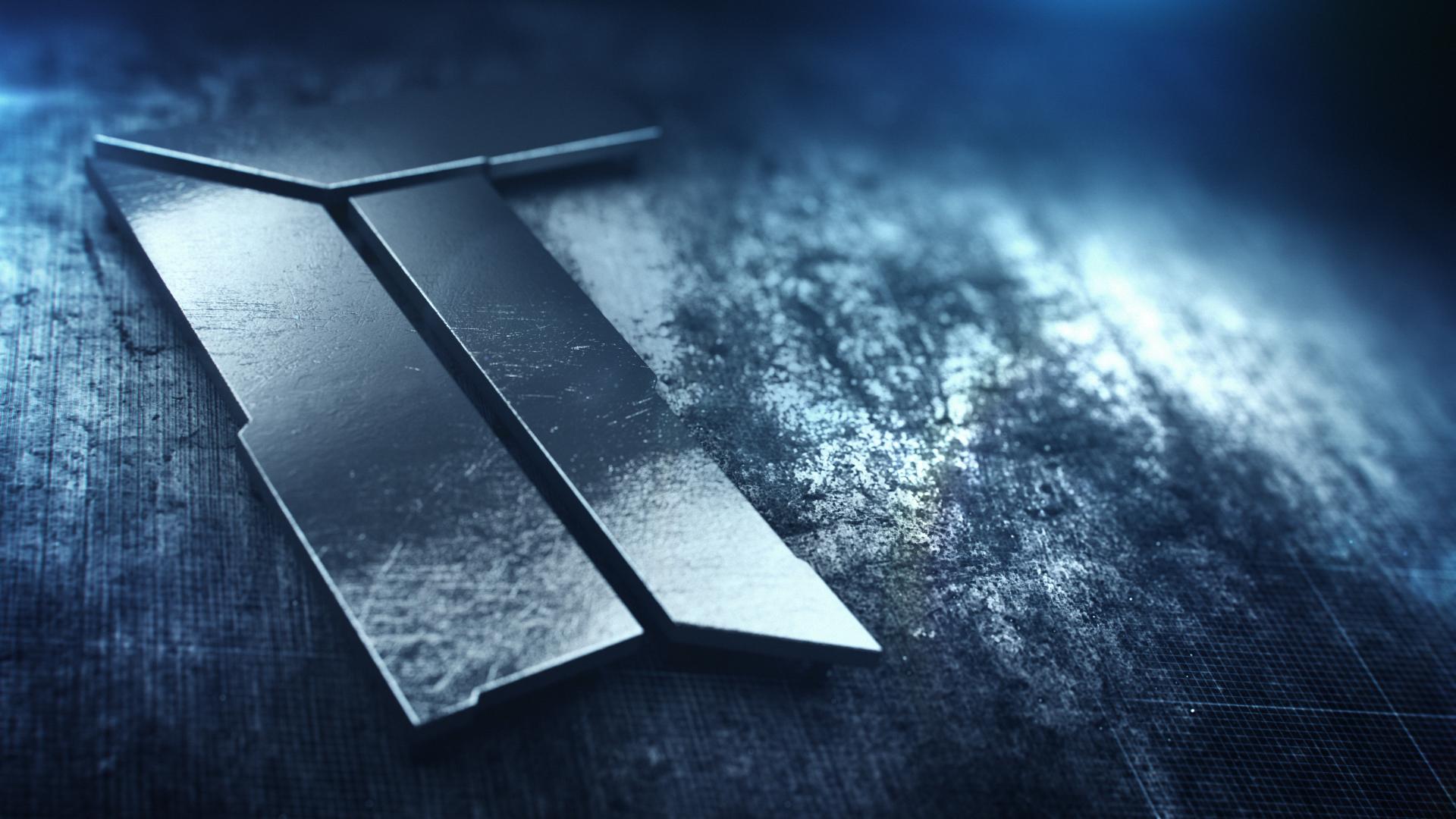 titan logo 3D