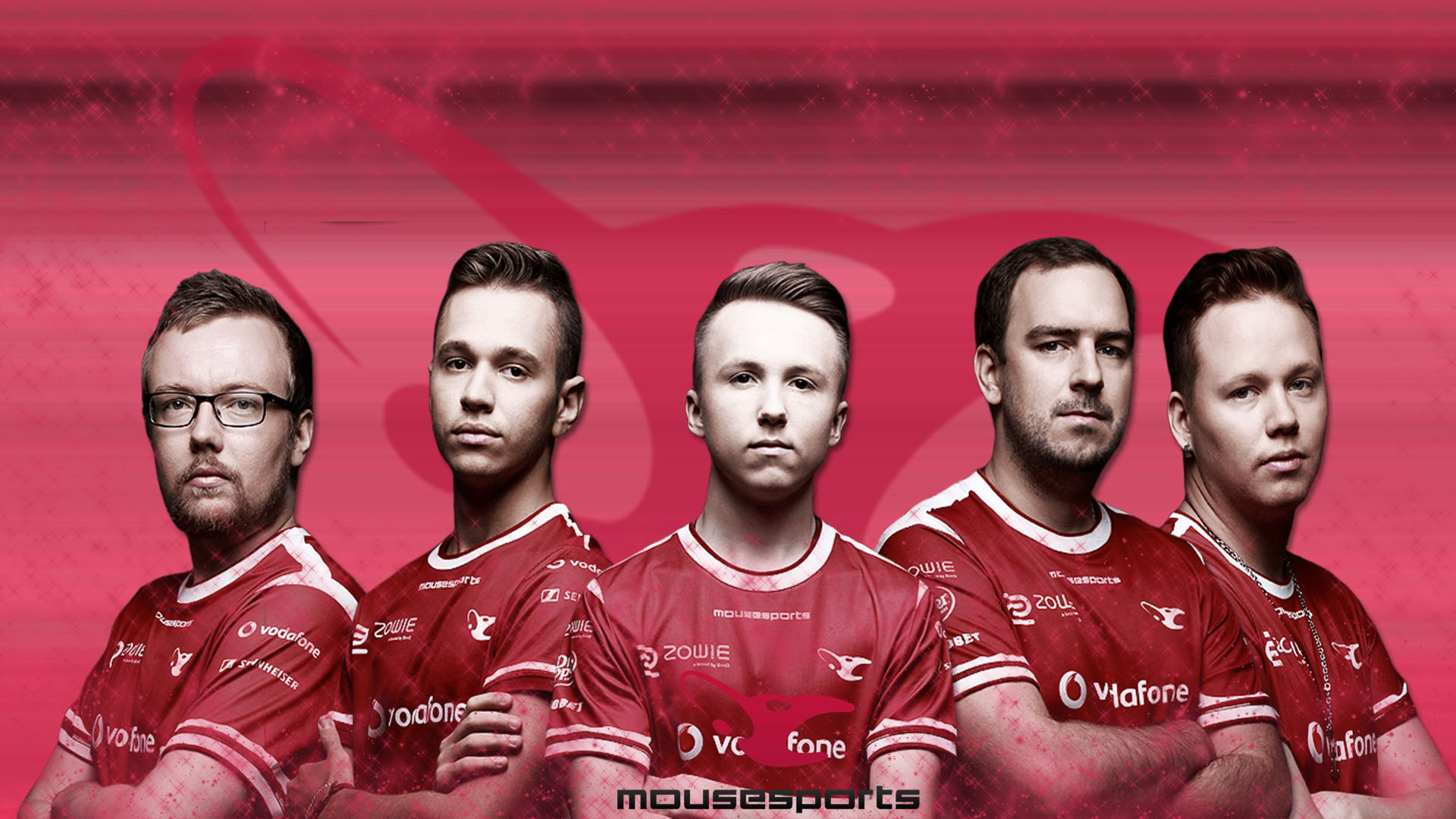 Mousesports wallpaper with player by Ronofar