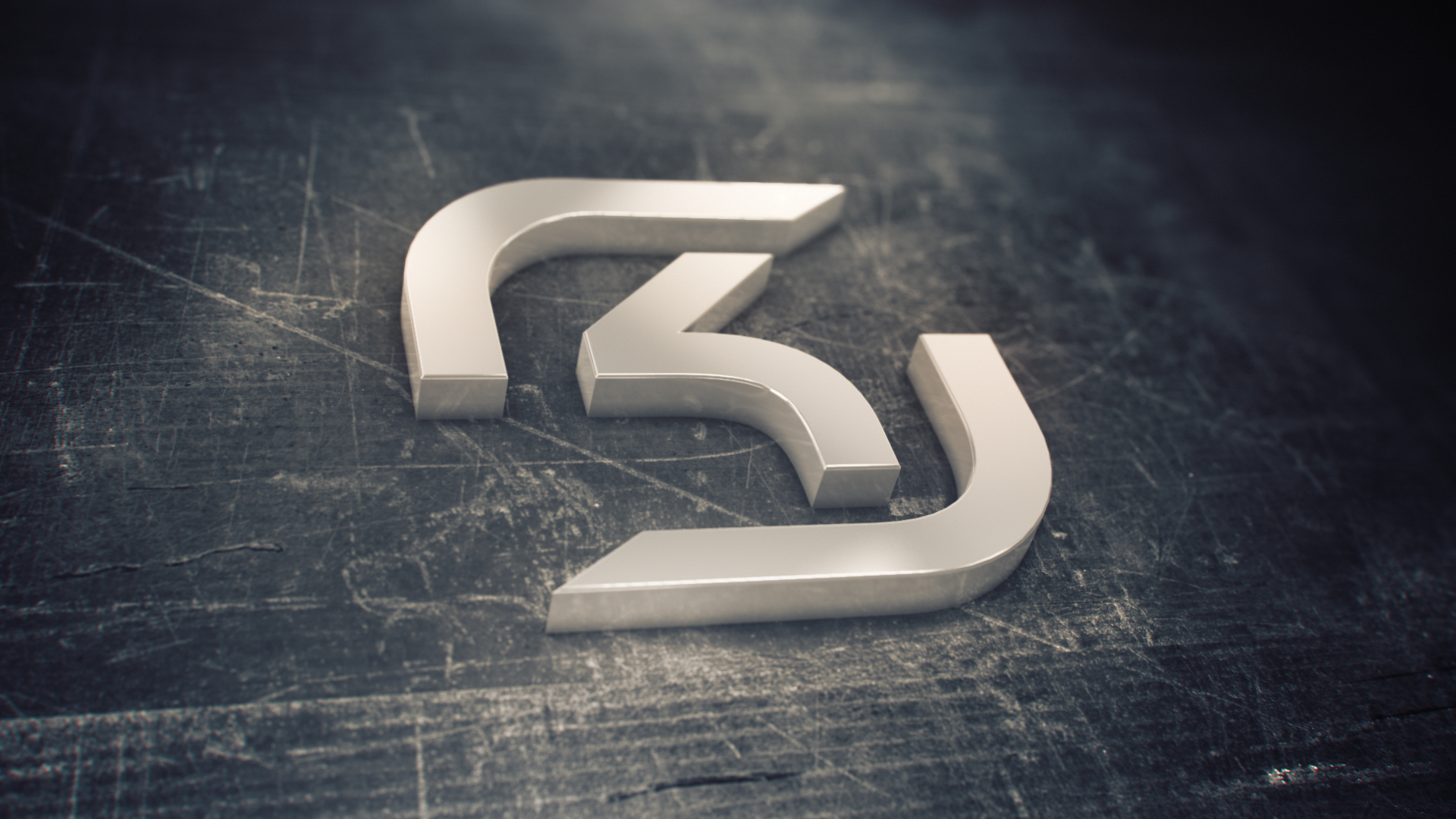 SK Gaming Logo 3D