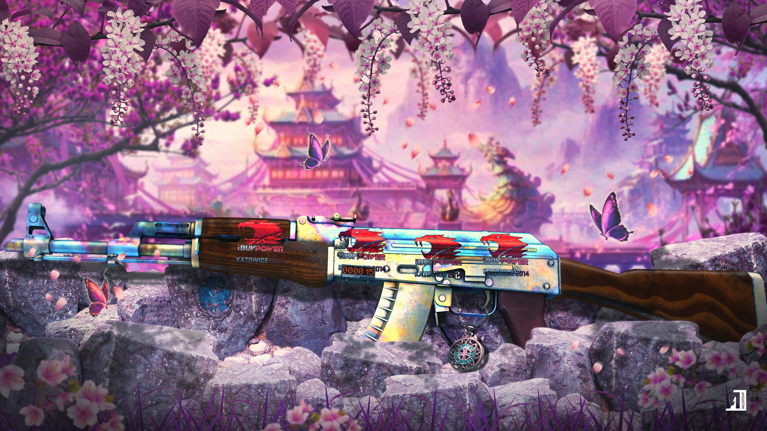 AK-47 | Case Hardened