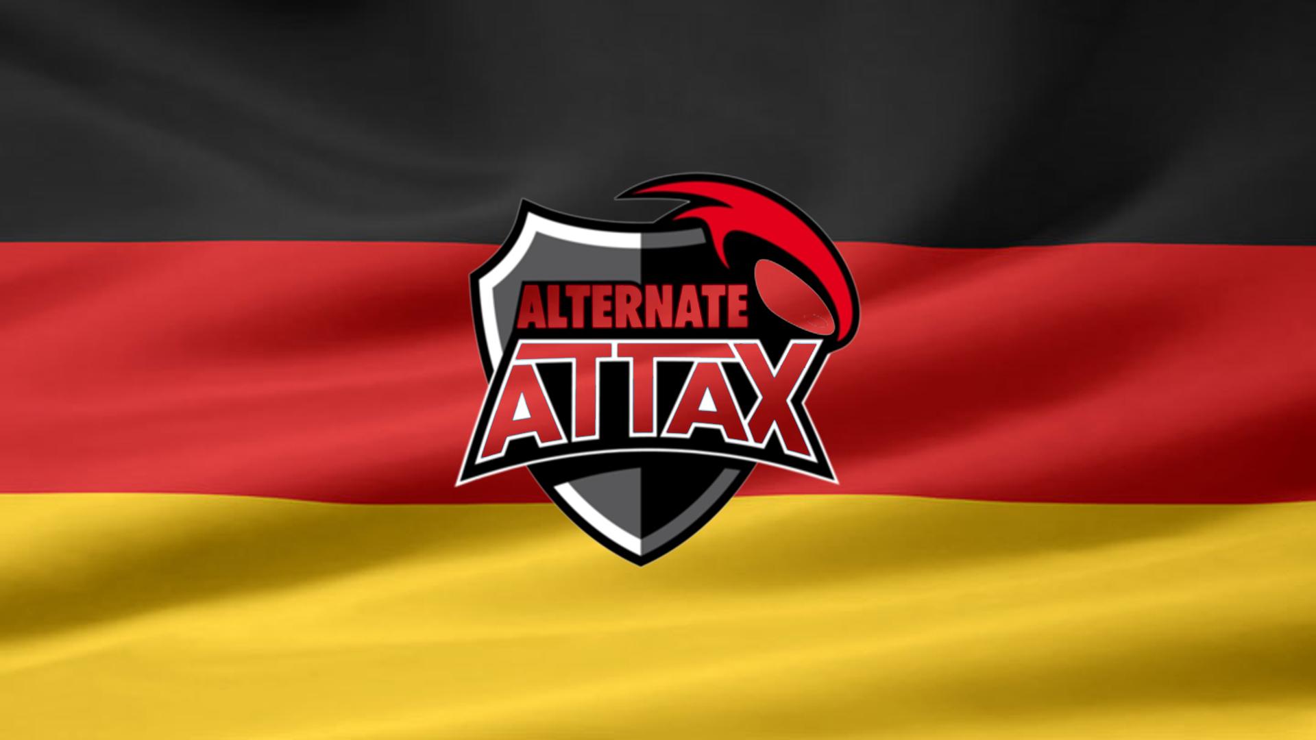 Alternate Attax German Flag