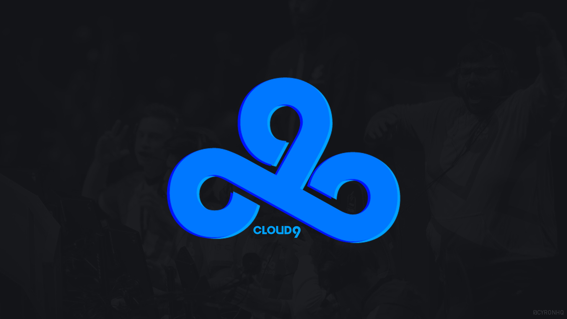 Cloud9 Tripple-Blue Wallpaper