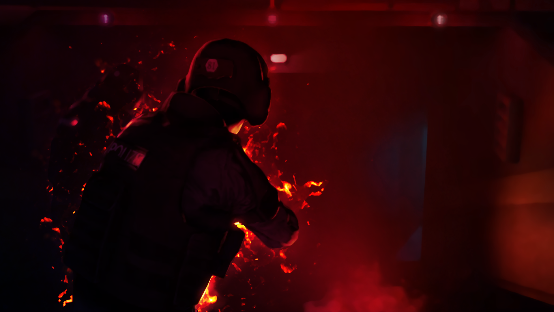 Ct's on Fire - Wallpaper