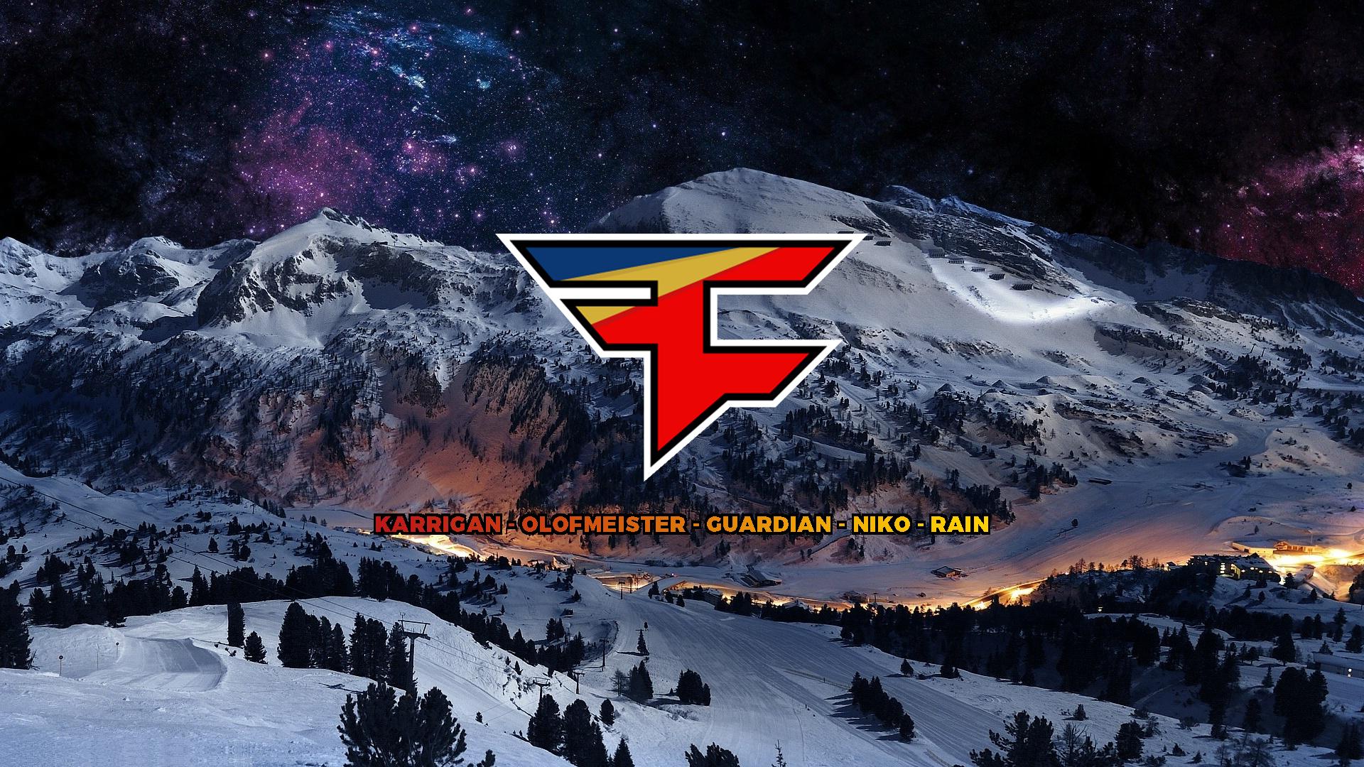 FaZe Clan team names - Mountain Wallpaper