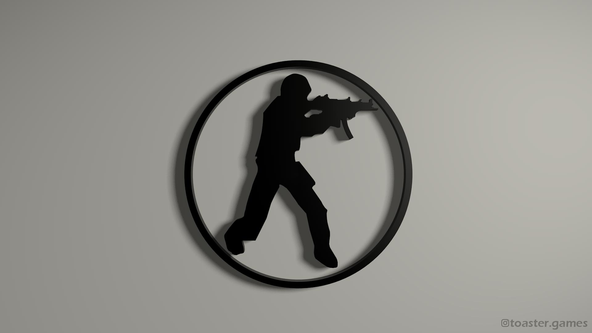 CSGO Logo Black