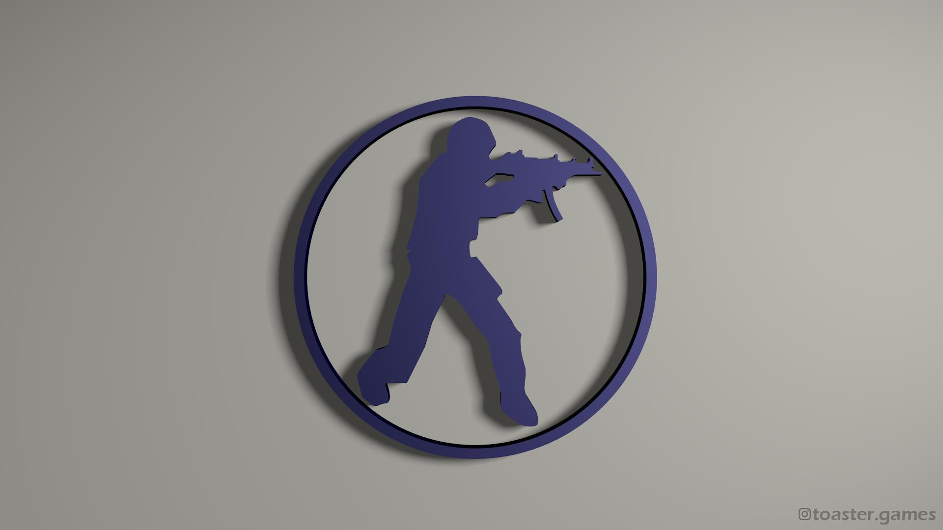 CSGO Logo blue