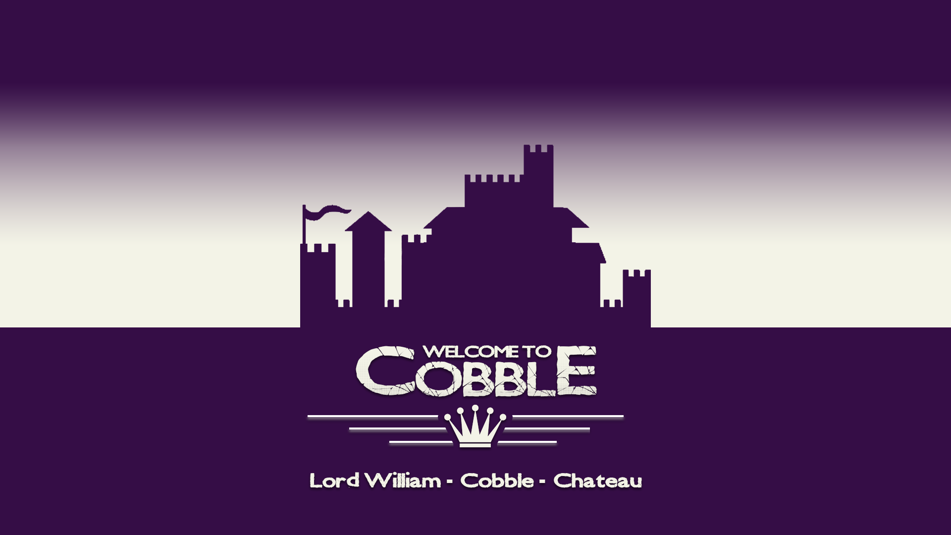 Welcome To Cobble