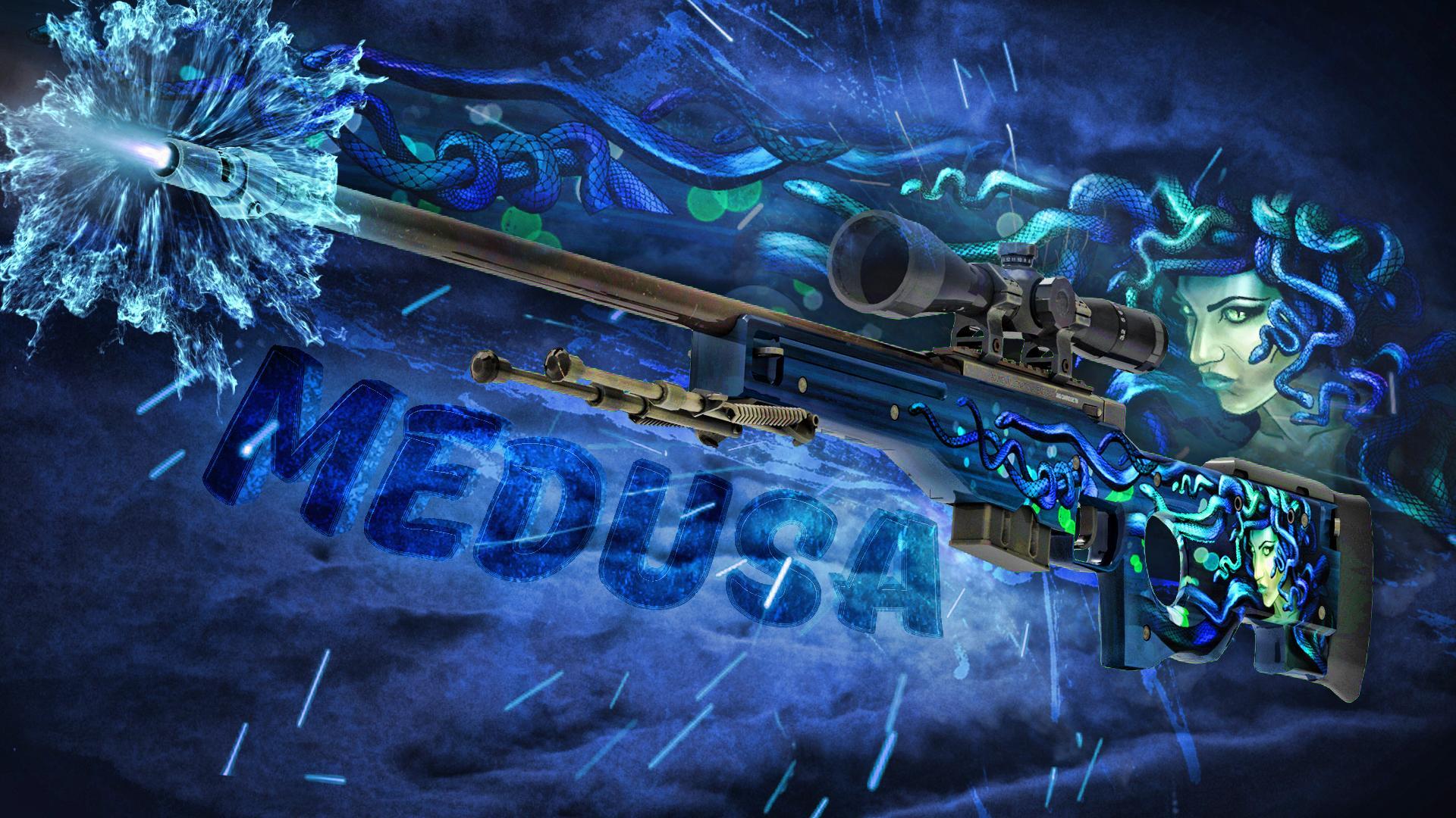 AWP Medusa created by Doud | CSGO