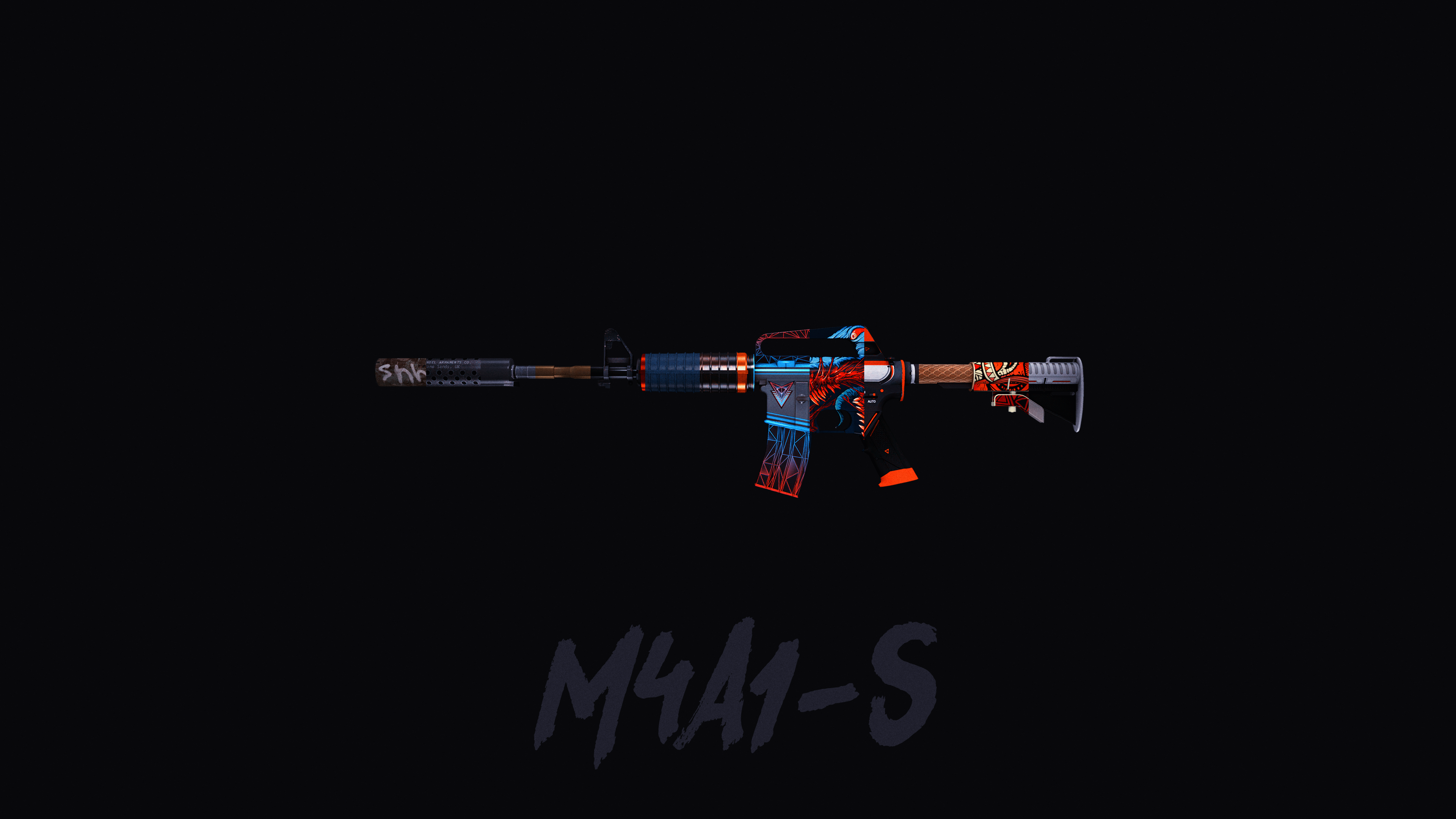M4a1 S 4k Created By Umossawi Csgo Wallpapers