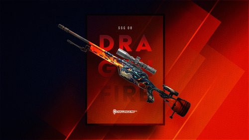 SSG08 Dragonfire Wallpaper by ChallengeMe.GG