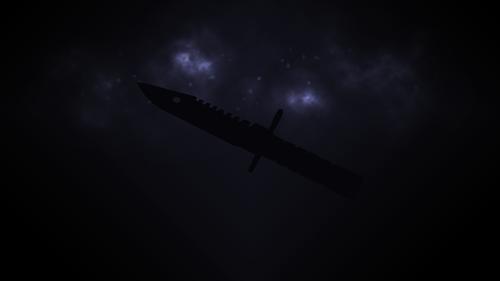 Blue M9 Bayonet