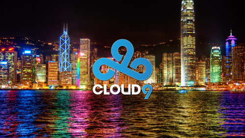 Cloud 9 on City Backdrop