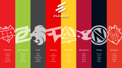 Eleague Atlanta 2017 - Challengers