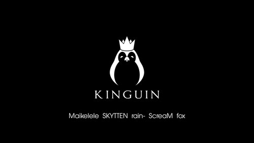 Kinguin black/white