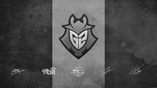 G2 wallpaper with Autograpg by Ronofar