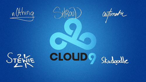 Cloud9player autograph (off.) by Ronofar