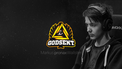 GODSENT : Markus 'pronax' Wallsten