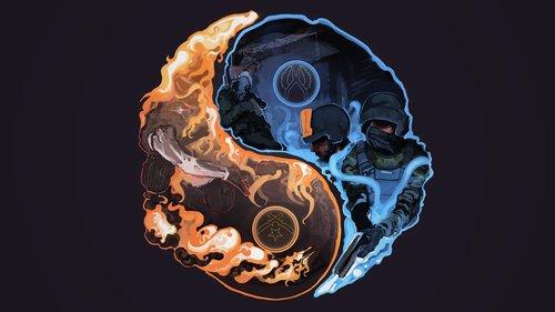 CT vs T - Yin Yang