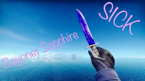 Bayonet Sapphire