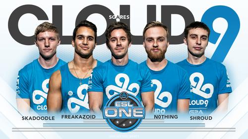 ESL ONE Team Cloud9