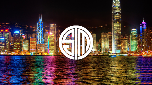 Team Solomid on City Backdrop