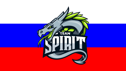 New Team Spirit Logo Russia