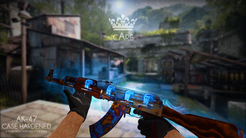 cAre CSGO Epic Case Hardened AK