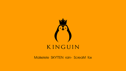 Kinguin orange/black