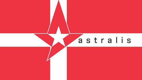 Astralis Denmark Flag