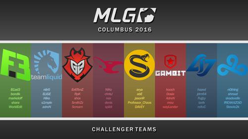 MLG Columbus 2016 Challengers