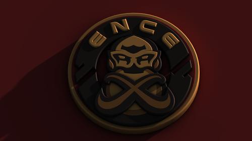 ENCE eSports 3D logo