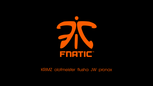 Fnatic black/orange