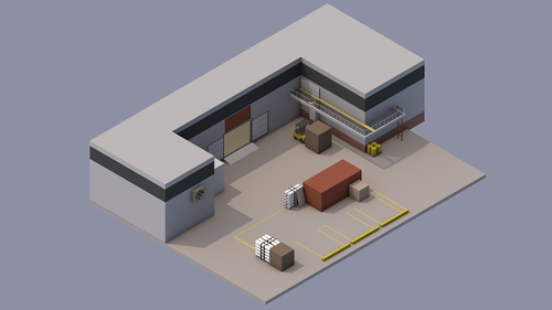 Isometric Cache A Site
